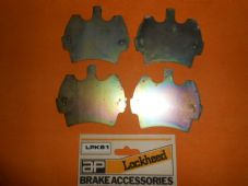 AUSTIN ROVER Mini 1.0(85-92)Mini 1.3(90-99)ANTI SQUEAL BRAKE PAD SHIMS x4-LPK81